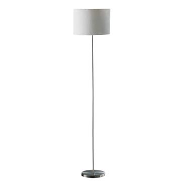 Picture of Forma Cream Waffle Effect Shade Floor Lamp - EU Plug