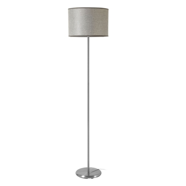 Picture of Forma Grey Waffle Effect Shade Floor Lamp