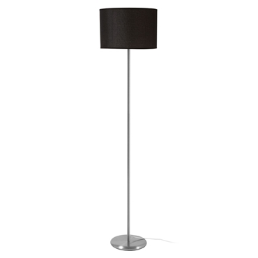 Picture of Forma Black Shade Floor Lamp with EU Plug