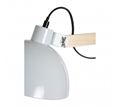 Picture of Blair White Wood / Metal Floor Lamp