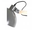 Picture of Blair Grey Wood / Metal Floor Lamp