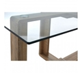 Picture of Barton Clear Tempered Glass Dining Table