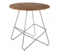 Picture of District Grey Metal & Elm Wood Round Table