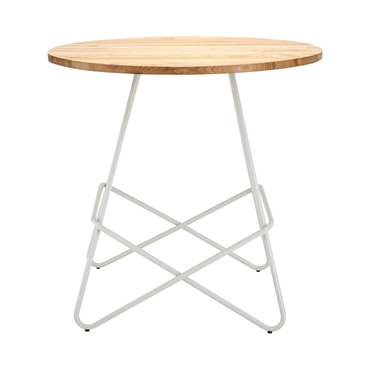 Picture of District White Metal Round Table