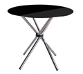 Picture of Black Tempered Glass Dining Table